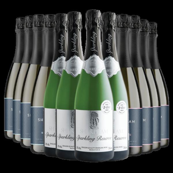 Sharpham English Sparkling Wine Ultimate Mix
