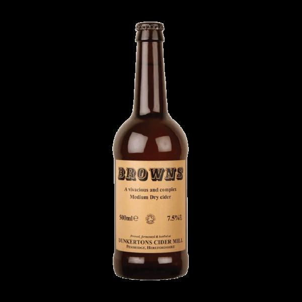 Dunkerton's Browns Medium Dry Cider